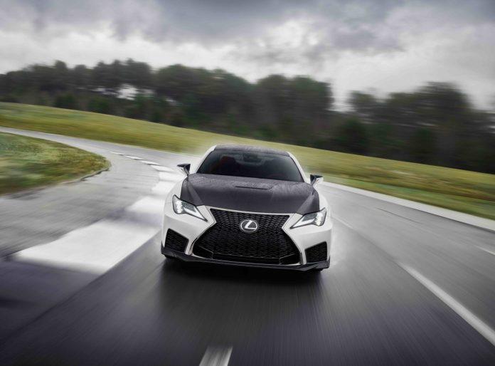 lexus rc f 2021 ra mắt cùng phiên bản đặc biệt fuji