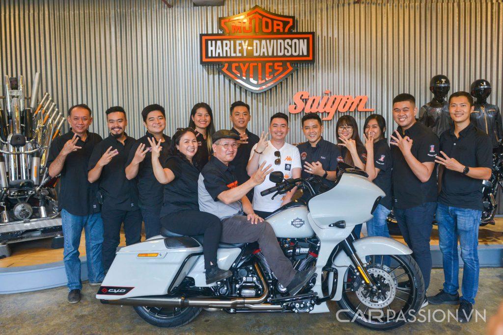 Cận cảnh Harley-Davidson CVO Road Glide 2020 3 chiếc tại việt nam ảnh 8