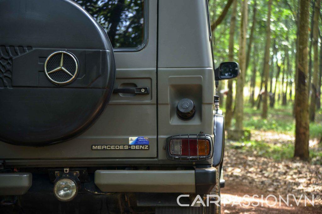 Đánh giá Mercedes Benz 290GD G-Class ảnh 7